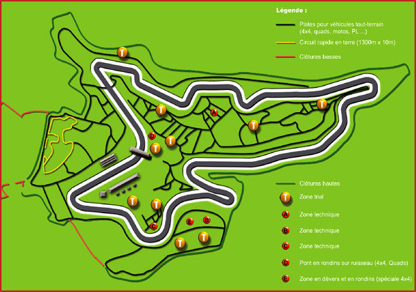 Plan du circuit de charade